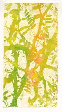 """""""Branching Out"""" Lasercut Woodblock"""